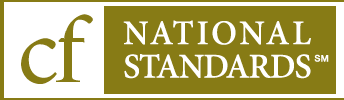 CF National Standards seal